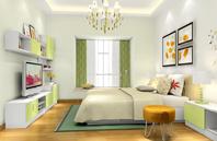全屋多功能空间利用 卧室效果图