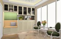 英式田园风格客厅家具