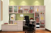 极简主义北欧书房家具