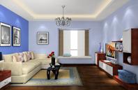 中欧结合混搭风格潮流客厅设计