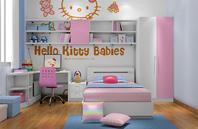 Hello Kitty 主题儿童房