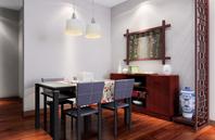 中国风式的餐厅装修效果图