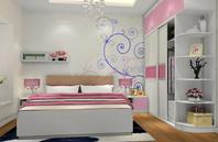 温馨浪漫的卧室装修效果图