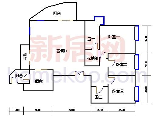 2-18层C单元