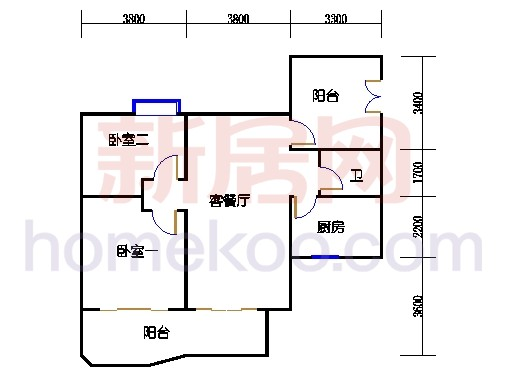 A3栋5-24层02单元