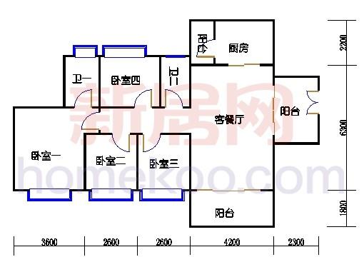 B4栋3层03单元