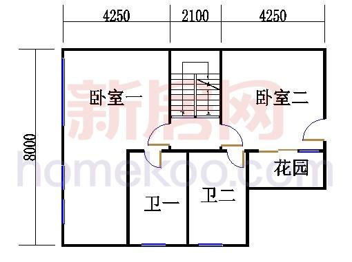 25栋楼复式05单元二层