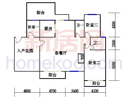 29、30、31、32、33、35栋楼复式01单元首层
