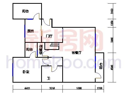F4单位花台小墅一层