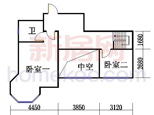 5、6号楼G单位复式上层