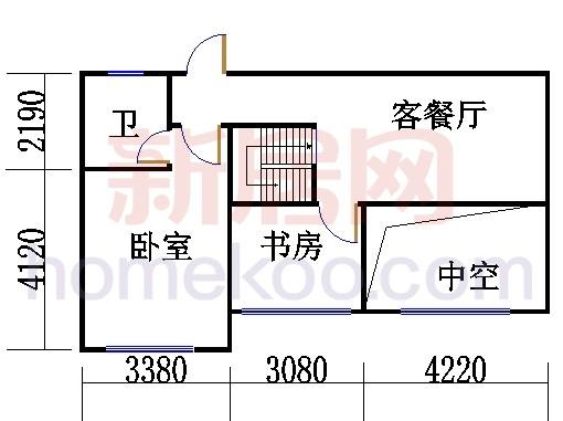 5、6号楼G1'单位复式上层