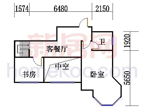 5、6号楼G2单位复式上层