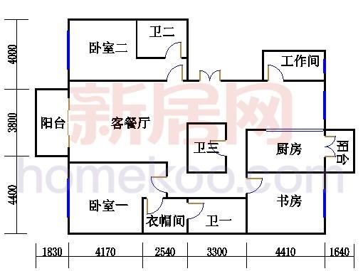 B1、B3、B6、B8-3(7)单元