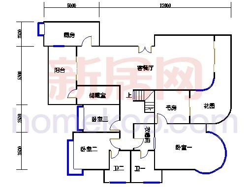 G1栋18层复式02单元下层