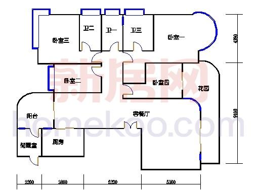 G3栋6-22层01单元