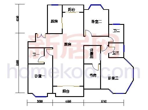 多层公寓35D单元