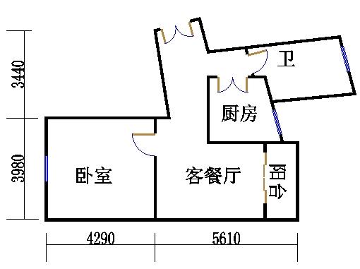 17号楼51单元02室(四至五层)