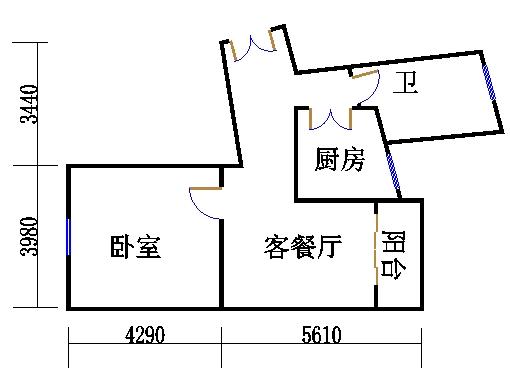 17号楼52单元02室(四至五层)
