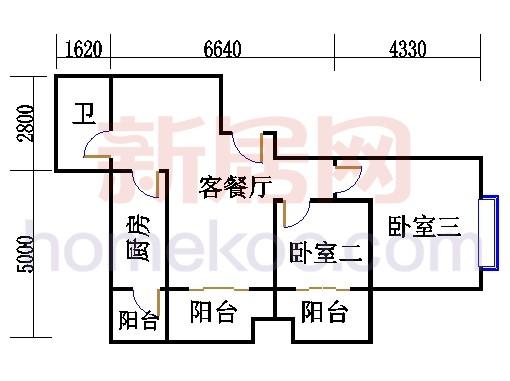1-2号楼(2-18层)J单位