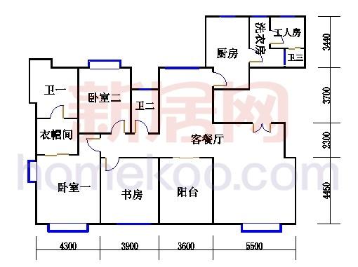 豪华江景三房(C1-02)