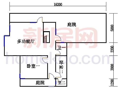 尚林美墅T1-A单元一层