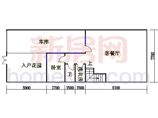 尚林美墅T1-C单元地下层