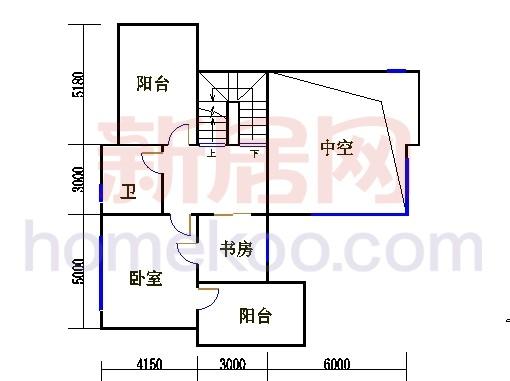 尚林美墅T2-A单元二层