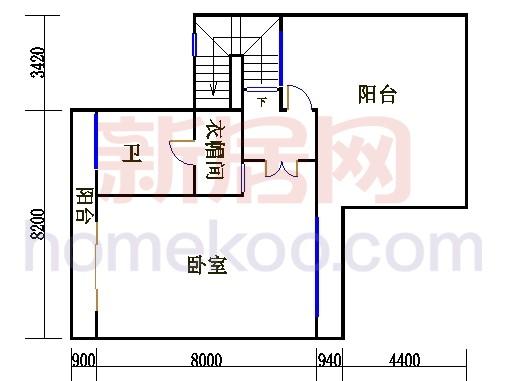尚林美墅T2-A单元三层