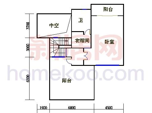 尚林美墅T2-B单元三层