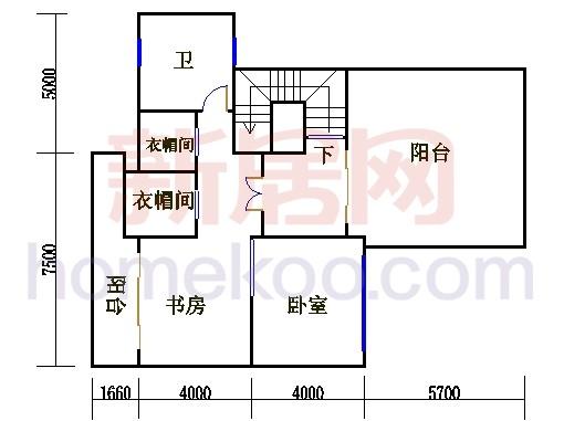 尚林美墅T4单元三层