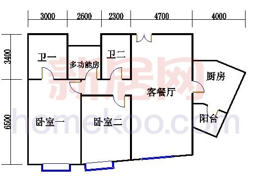 T12-01户型 3-36层