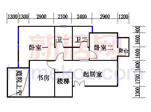A型叠加别墅4层01单元