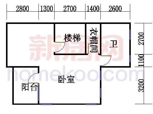E型双拼别墅3层02单元