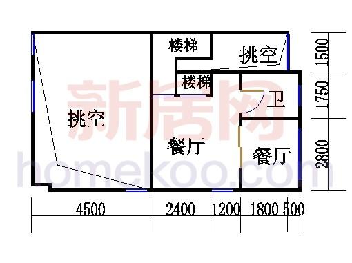 E型双拼别墅夹层02单元