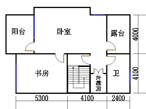 STYPE-A户型三层