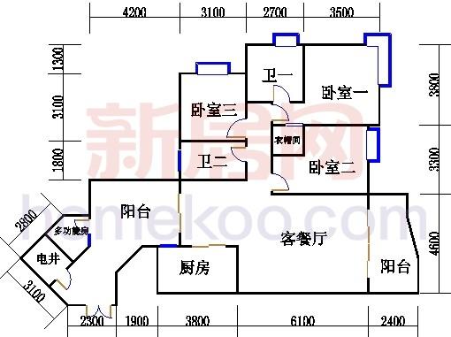C8栋2-13、22-23、28-30层01单元