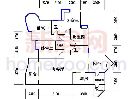 C8栋2-13、22-23、28-30层02单元