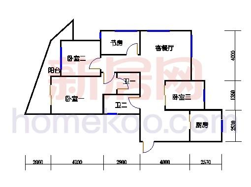 8-10幢标准偶数层03单元、12-13-15幢标准偶数层01单元