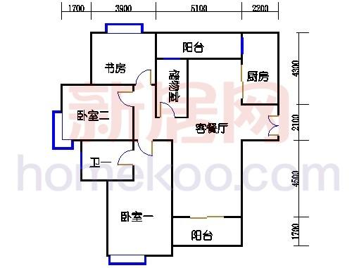 3-16层A1户型