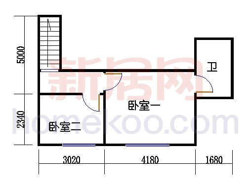 丽晶5-10 17-19层06单位二层