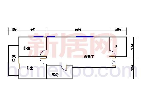 东塔L(3-6层)单元