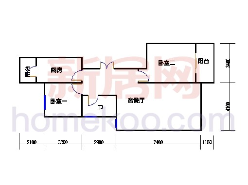 B5型5号楼1单元02室