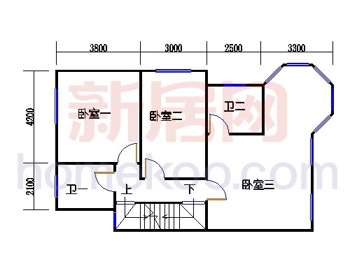 C-1排屋二层