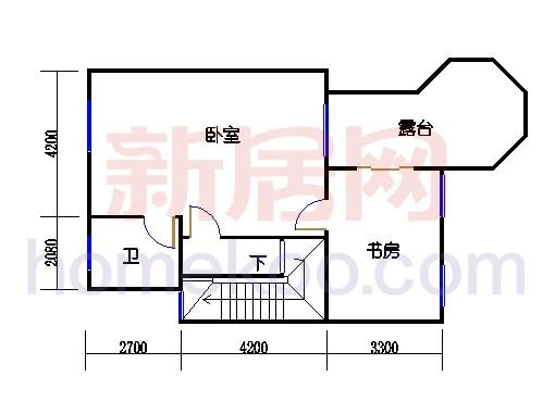 C-1排屋三层