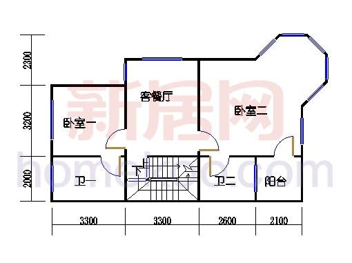 C-2排屋二层