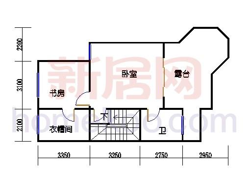 C-2排屋三层