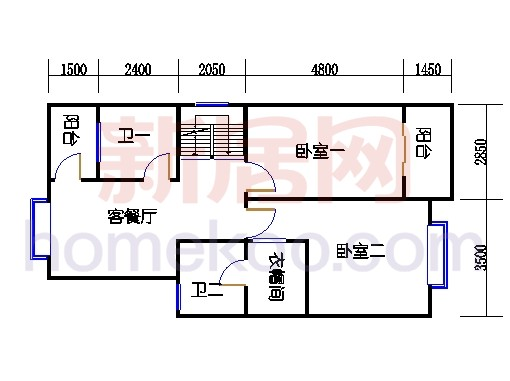 C-3排屋二层