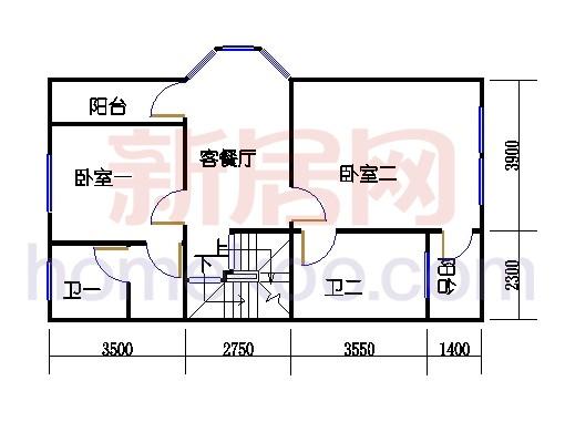 C-4排屋二层