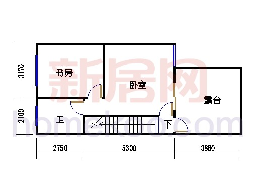 C-5排屋三层