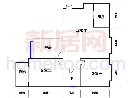 3#楼3-22层01单元